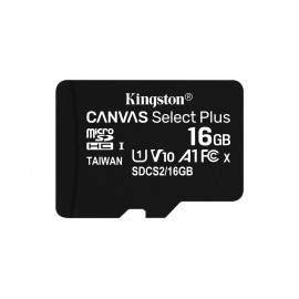 Kingston Technology Canvas Select Plus memoria flash 16 GB MicroSDHC Clase 10 UHS-I SDCS2/16GB