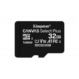 Kingston Technology Canvas Select Plus memoria flash 32 GB MicroSDHC Clase 10 UHS-I SDCS2/32GB-2P1A