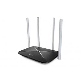 Mercusys AC12 router inalámbrico Doble banda (2,4 GHz / 5 GHz) Ethernet rápido Negro ac12