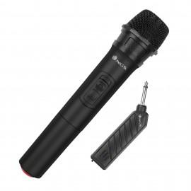 NGS SINGER AIR Micrófono para karaoke Negro ELEC-MIC-0013