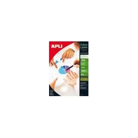 APLI Papel APLI glossy láser color 160g 100A4 doble cara 11817