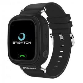 Brigmton BWATCH-KIDS-N reloj inteligente Negro LCD (1.22'') Móvil GPS (satélite) BWATCH-KIDS-N
