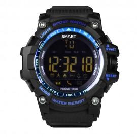 Brigmton BWATCH-G1-A reloj inteligente Negro, Azul (1.12'') BWATCH-G1-A