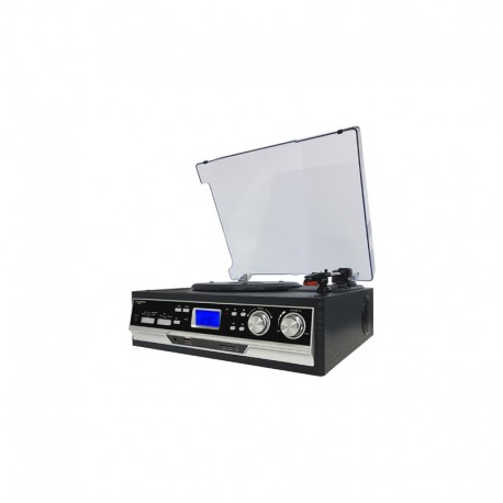 Sunstech PXR22 Tocadiscos de tracción por correa Negro pxr22bk