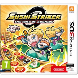 Nintendo Sushi Striker The Way of Sushido, 3DS