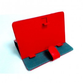 PINBOX Funda Tablet Protect 7-8'' Generica Roja ft78r