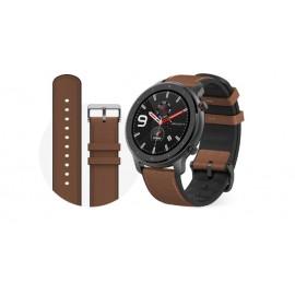 Amazfit GTR 47mm reloj inteligente Aluminio Marron