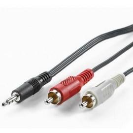 Nilox 1.5m 3.5mm 2xRCA NX090102101