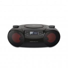 Energy Sistem Boombox 6 Reproductor de CD portátil Negro 447589
