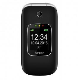 Funker C85 6,1 cm (2.4'') 85 g Negro Teléfono básico C85BL