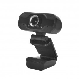 InnJoo Cam01 cámara web 2 MP 1920 x 1080 Pixeles USB 2.0 Negro ij-webcam01