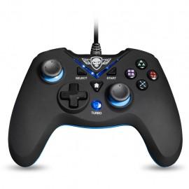 Spirit of Gamer SOG-WXGP mando y volante Gamepad PC,Playstation 3 Analógico/Digital USB Negro, Azul