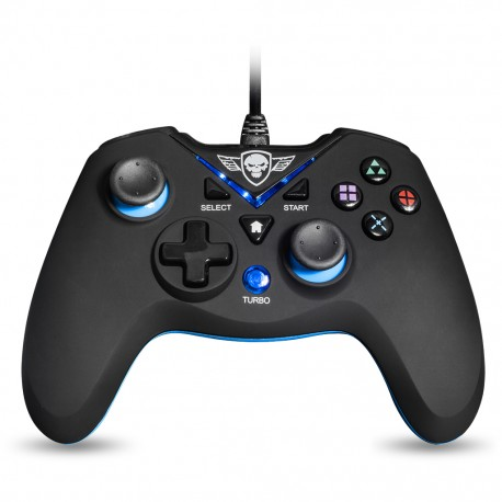 Spirit of Gamer SOG-WXGP mando y volante Gamepad PC,Playstation 3 Analógico/Digital USB Negro, Azul