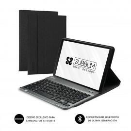SUBBLIM Funda con Teclado KEYTab Pro BT Samsung GT A T510/515 Black - sub-kt3-bts001