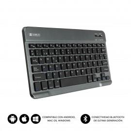 SUBBLIM Teclado Bluetooth Smart BT Keyboard Grey - sub-kbt-sm0002