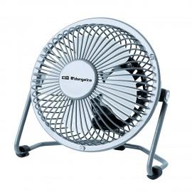 Orbegozo PW 1019 Ventilador con aspas para el hogar Acero inoxidable ventilador