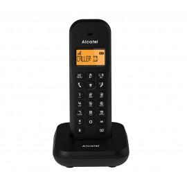Alcatel E155 Teléfono DECT/analógico Negro Identificador de llamadas - atl1420777