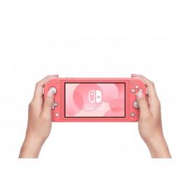 Nintendo Switch Lite videoconsola portátil Coral 14 cm (5.5'') Pantalla táctil 32 GB Wifi - 10004131
