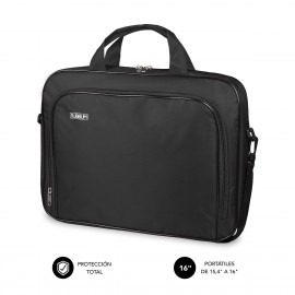 SUBBLIM Maletín Ordenador Oxford Laptop Bag 15,4-16'' Black - sub-lb-1olb050