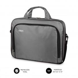 SUBBLIM Maletín Ordenador Oxford Laptop Bag 13,3''-14'' Grey - sub-lb-1olb031