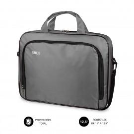 SUBBLIM Maletín Ordenador Oxford Laptop Bag 11-12,5'' Grey - sub-lb-1olb002