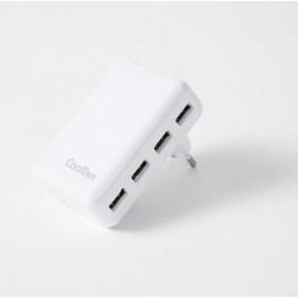 CARGADOR USB DE PARED COO-UX4W - COO-UX4W
