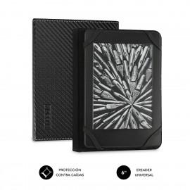 SUBBLIM Funda Libro Electrónico Clever Ebook Case 6'' Black - sub-cue-1ec001