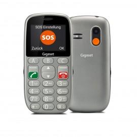 Gigaset GL390 teléfono móvil 2.2'' Plata