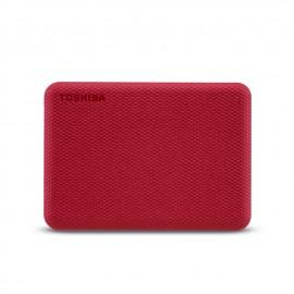 Toshiba Canvio Advance 1000 GB Rojo
