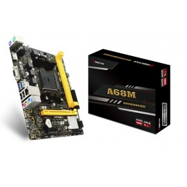 Biostar A68MHE   FM2+ ATX AMD A68H