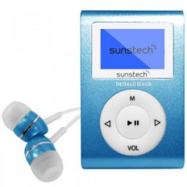 Sunstech DEDALOIII MP3 4GB Azul DEDALOIII4GBBL