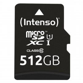 Intenso microSD Karte UHS-I  512 GB Clase 10