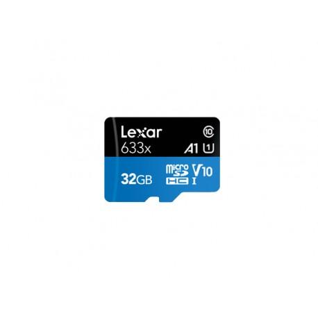 Lexar 633x 32 GB MicroSDHC Clase 10 UHS-I