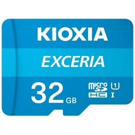 Kioxia Exceria memoria flash 32 GB MicroSDHC Clase 10 UHS-I - lmex1l032gg2