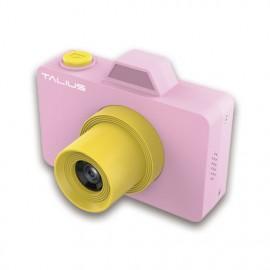 TALIUS Camara digital Pico kids 18MP 720P 32GB pink - TAL-PICOKIDS-PNK