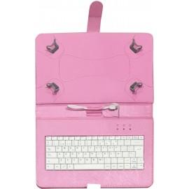 TALIUS funda con teclado para tablet 10'' CV-3006 pink - TAL-CV3006-PIN