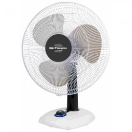 Orbegozo 25W Negro, Color blanco ventilador TF 0123