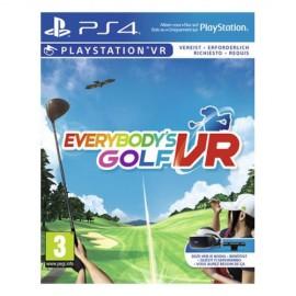 Sony Everybody's Golf VR, PS4 PlayStation 4 Básico Inglés - 9921806