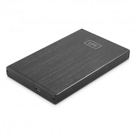 1Life hd:vault 2 2.5'' Carcasa de SSD Negro