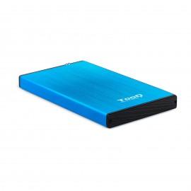 TooQ TQE-2527BL caja para disco duro externo 2.5'' azul