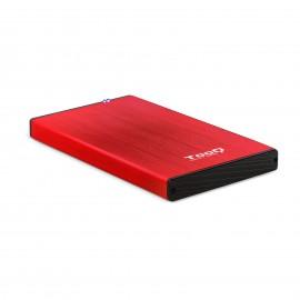 TooQ TQE-2527R  2.5''  HDD Rojo