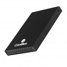 CoolBox SlimChase 2512 2.5'' Carcasa de  SSD Negro