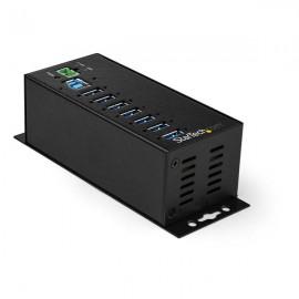 StarTech.com Hub Concentrador Ladrón USB 3.0 de 7 Puertos con Adaptador de Alimentación Externo - con Protección ESD de 350W