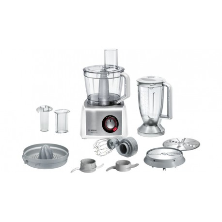 Bosch MC812S820 robot de cocina 3,9 L Acero inoxidable, Blanco 1250 W