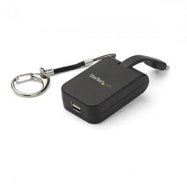 StarTech.com Adaptador Portátil USB-C a Mini DisplayPort con Llavero de Conexión Rápida CDP2MDPFC