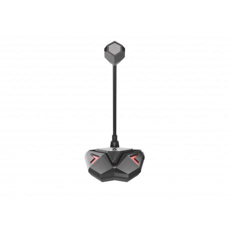 GENESIS Radium 100 Micrófono para PC Negro, Rojo - ngm-1407
