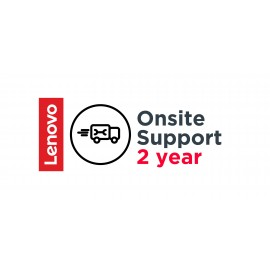 Lenovo 2 Year Onsite Support - 5WS0W89679