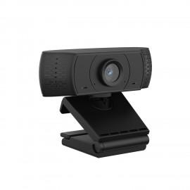 Ewent EW1590 cámara web 2 MP 1920 x 1080 Pixeles USB Negro