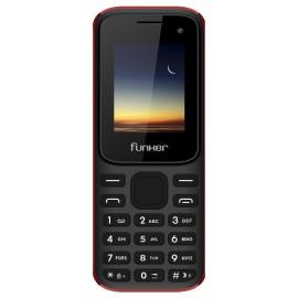 Funker F2 Classic 4,57 cm (1.8'') 67 g Negro, Rojo Característica del teléfono 8437015560755