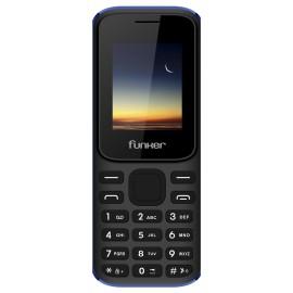 Funker F2 Classic 4,57 cm (1.8'') 67 g Negro, Azul Característica del teléfono 8437015560748